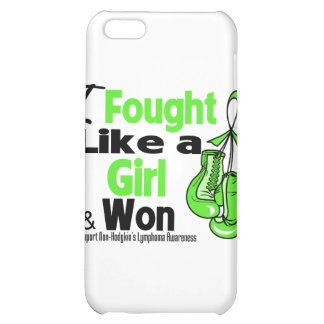 Non-Hodgkin Lymphoma I Fought Like a Girl and Won iPhone 5C Case