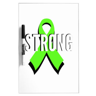 non-Hodgkin lymphoma lime green support STRONG Dry Erase White Board