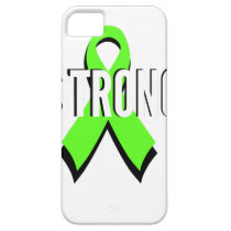 non-Hodgkin lymphoma lime green support STRONG iPhone SE/5/5s Case