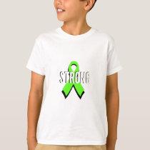 non-Hodgkin lymphoma lime green support STRONG T-Shirt