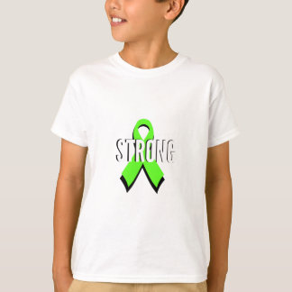 non-Hodgkin lymphoma lime green support STRONG T-Shirt