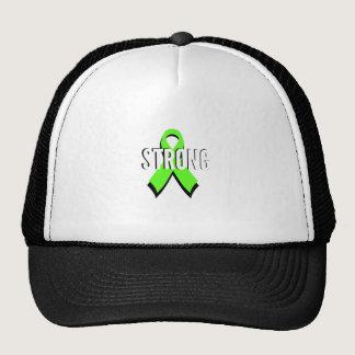 non-Hodgkin lymphoma lime green support STRONG Trucker Hat