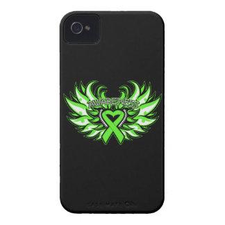 Non-Hodgkin's Lymphoma Awareness Heart Wings Blackberry Bold Cover