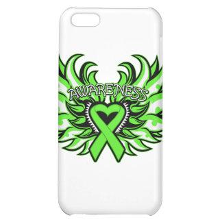 Non-Hodgkin's Lymphoma Awareness Heart Wings png iPhone 5C Cover