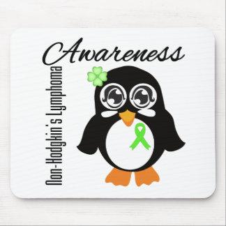 Non-Hodgkin s Lymphoma Awareness Penguin Mouse Pads