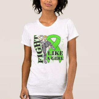 Non-Hodgkin's Lymphoma Fight Like A Girl Kickin Bu T Shirt