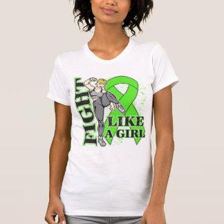 Non-Hodgkin's Lymphoma Fight Like A Girl Kickin Bu Tee Shirt