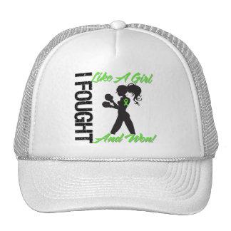 Non-Hodgkin s Lymphoma I Fought Like A Girl Won Mesh Hats