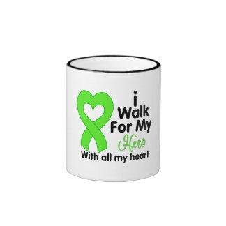Non-Hodgkin s Lymphoma I Walk For My Hero Mug
