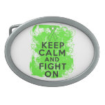 Non-Hodgkin's Lymphoma Keep Calm and Fight On Belt Buckle