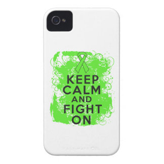 Non-Hodgkin's Lymphoma Keep Calm and Fight On iPhone 4 Case-Mate Case