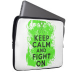 Non-Hodgkin's Lymphoma Keep Calm and Fight On Computer Sleeve