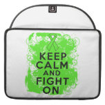 Non-Hodgkin's Lymphoma Keep Calm and Fight On MacBook Pro Sleeves