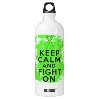 Non-Hodgkin's Lymphoma Keep Calm and Fight On SIGG Traveler 1.0L Water Bottle