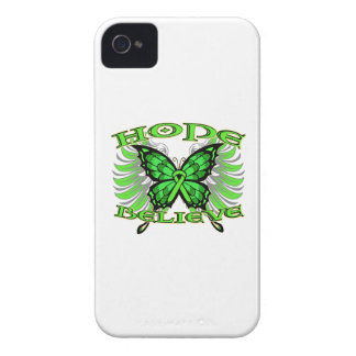Non-Hodgkin sLymphoma Hope Believe Butterfly iPhone 4 Cases