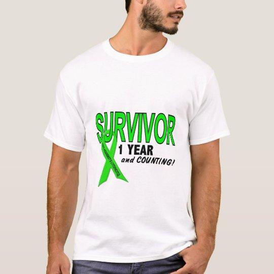 Non-Hodgkins Lymphoma 1 Year Survivor T-Shirt