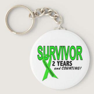 Non-Hodgkins Lymphoma 2 Year Survivor Keychain