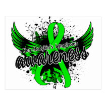 Non-Hodgkin's Lymphoma Awareness 16 Postcard