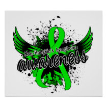 Non-Hodgkin's Lymphoma Awareness 16 Poster