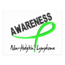 Non-Hodgkin's Lymphoma Awareness 3 Postcard
