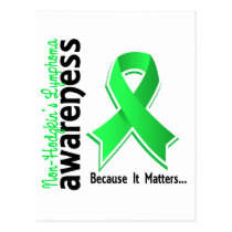 Non-Hodgkin's Lymphoma Awareness 5 Postcard