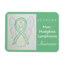 Non-Hodgkins Lymphoma Awareness Angel Magnet