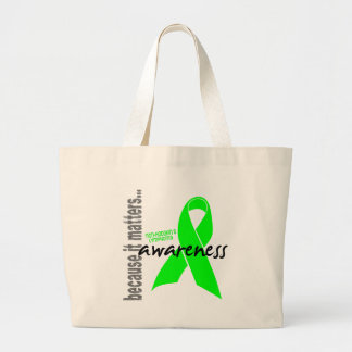 Non-hodgkins Lymphoma Awareness Canvas Bags
