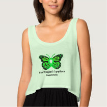 Non-Hodgkin's Lymphoma Awareness: Butterfly Tank Top