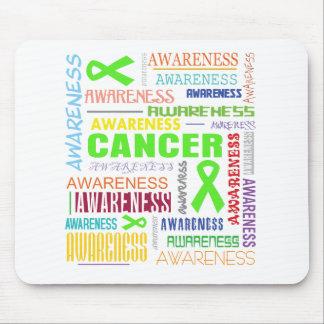 Non-Hodgkins Lymphoma Awareness Collage Mouse Pad
