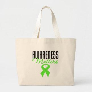 Non-Hodgkin's Lymphoma Awareness Matters Jumbo Tote Bag