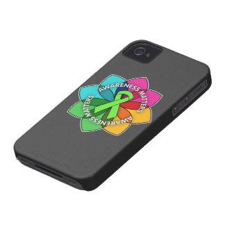 Non-Hodgkins Lymphoma Awareness Matters Petals iPhone 4 Covers