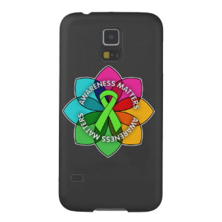 Non-Hodgkins Lymphoma Awareness Matters Petals Galaxy Nexus Cases