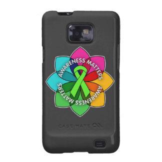 Non-Hodgkins Lymphoma Awareness Matters Petals Samsung Galaxy SII Covers