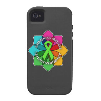 Non-Hodgkins Lymphoma Awareness Matters Petals iPhone 4/4S Cases