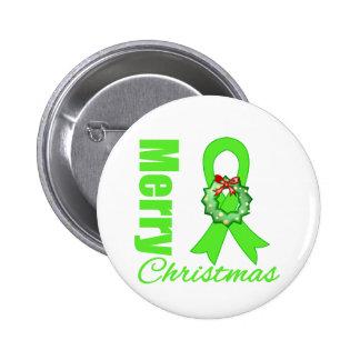 Non-Hodgkins Lymphoma Awareness Merry Christmas R Pin