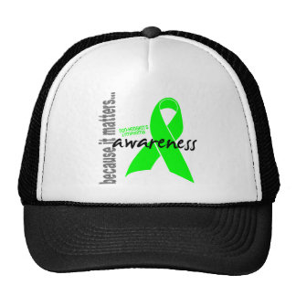 Non-hodgkins Lymphoma Awareness Mesh Hats