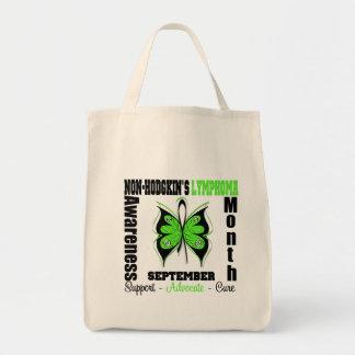 Non Hodgkins Lymphoma Awareness MONTH Grocery Tote Bag