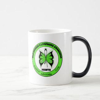 Non Hodgkins Lymphoma Awareness Month Butterfly v3 Mug