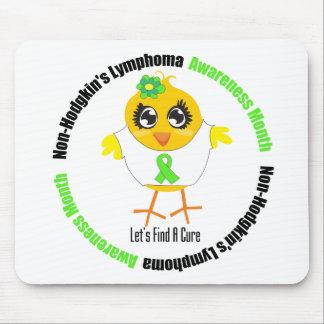Non Hodgkins Lymphoma Awareness Month (Circular) Mouse Pads