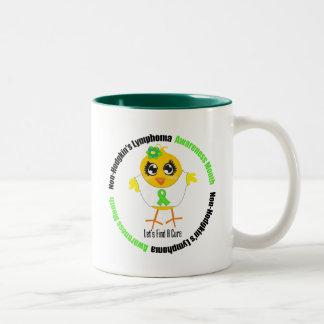 Non Hodgkins Lymphoma Awareness Month (Circular) Mugs
