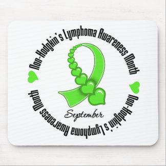 Non Hodgkins Lymphoma Awareness Month Hearts Mousepads