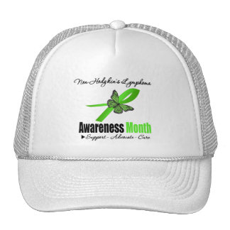 Non Hodgkins Lymphoma Awareness Month Recognition Mesh Hats