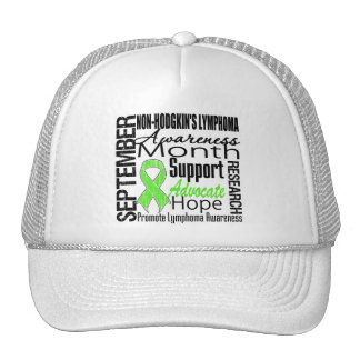 Non Hodgkins Lymphoma Awareness Month Tribute Trucker Hats