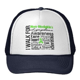 Non-Hodgkins Lymphoma Awareness Walk Mesh Hats