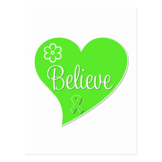 Non Hodgkins Lymphoma Believe Heart Post Cards