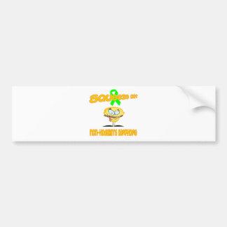 Non-Hodgkin's Lymphoma Bumper Sticker