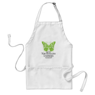 Non-Hodgkins Lymphoma Butterfly Adult Apron