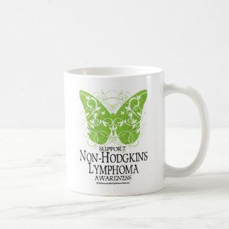 Non-Hodgkins Lymphoma Butterfly Coffee Mug