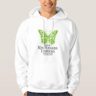 Non-Hodgkins Lymphoma Butterfly Hoodie