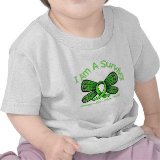 Non-Hodgkins Lymphoma Butterfly I Am A Survivor T Shirts